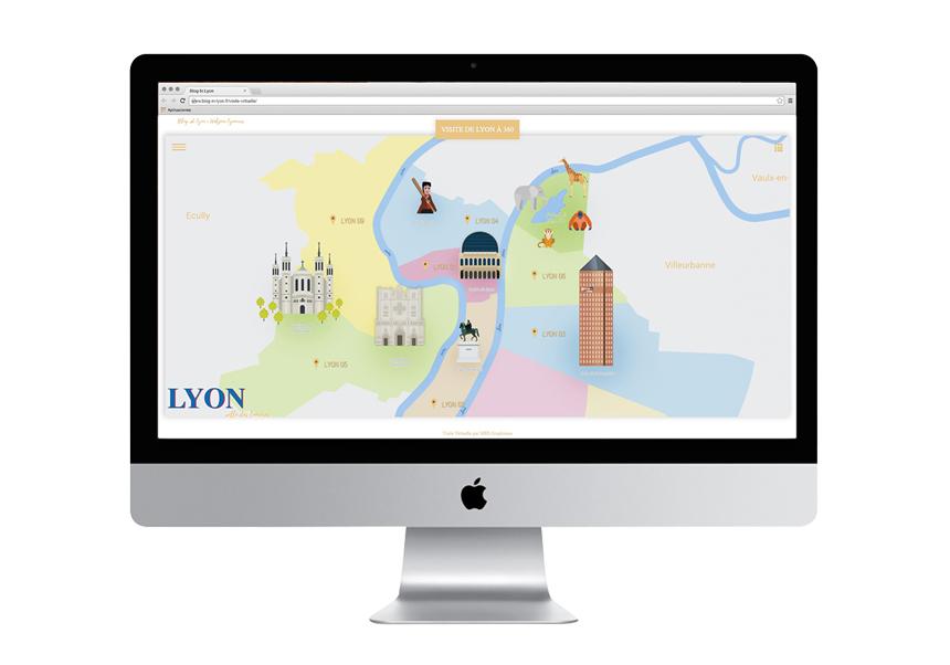 visite virtuelle lyon - MKS Graphisme