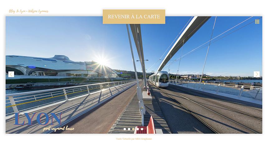 Visite Virtuelle de Lyon - MKS Graphisme